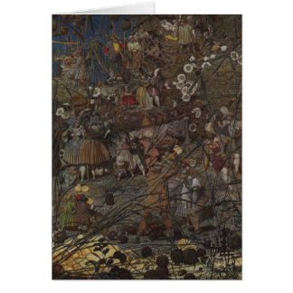 Richard Dadd's The Fairy Feller's Master-Stroke Card