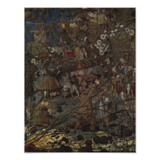 Richard Dadd's The Fairy Feller's Master-Stroke Poster