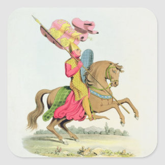Richard Fitzhugh, Constable of Chester and Standar Square Sticker