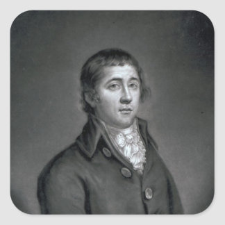 Richard Humphries, engraved by John Young, 1788 Square Sticker