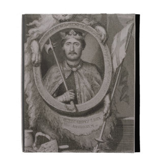 Richard I 'Coeur de Lion' (1157-99) King of Englan iPad Folio Case
