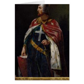 Richard I the Lionheart  King of England, 1841 Card