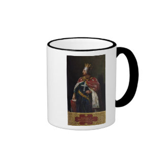 Richard I the Lionheart  King of England, 1841 Ringer Mug