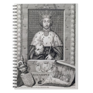 Richard II (1367-1400) King of England 1377-99, af Notebook