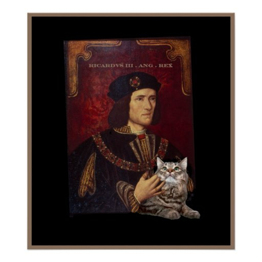Richard III and his cat Print