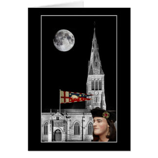 Richard III and Leicester Cathedral Card