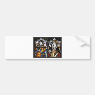 RICHARD III AND QUEEN ANNE OF ENGLAND BUMPER STICKER