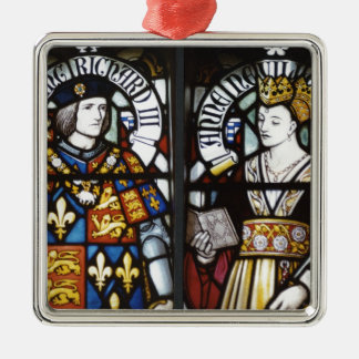 RICHARD III AND QUEEN ANNE OF ENGLAND CHRISTMAS TREE ORNAMENT