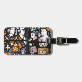 RICHARD III AND QUEEN ANNE OF ENGLAND LUGGAGE TAG