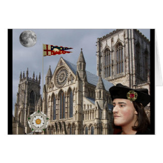 Richard III and York Minster Greeting Card