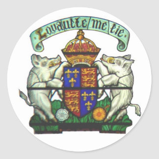 Richard III Motto Sticker