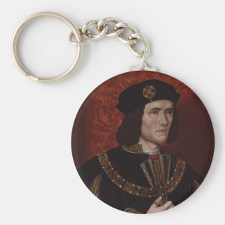 Richard III of England Basic Round Button Key Ring