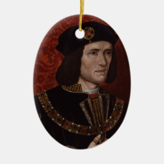 Richard III of England Ceramic Oval Decoration