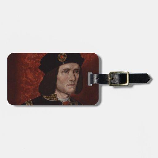 Richard III of England Travel Bag Tag