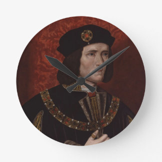 Richard III of England Round Clock