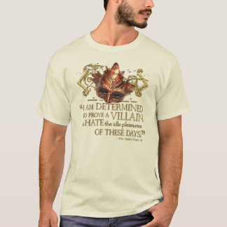 Richard III Quote (Gold Version) T-Shirt