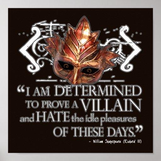 Richard III Quote Print