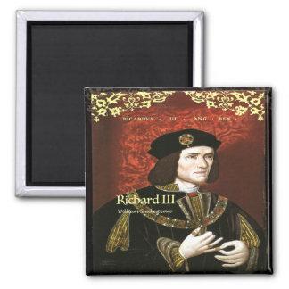 Richard III Square Magnet