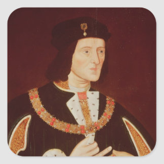Richard III Square Sticker