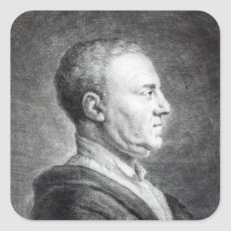 Richard Mead, 1739 Square Sticker