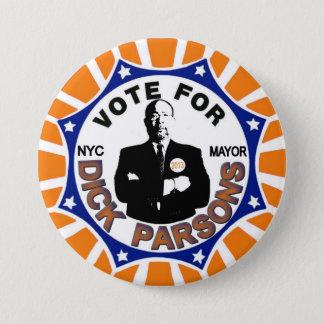 Richard Parsons for NYC Mayor 2013 7.5 Cm Round Badge