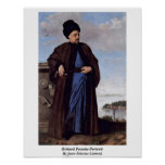 Richard Pococke-Portrait By Jean-Etienne Liotard Print