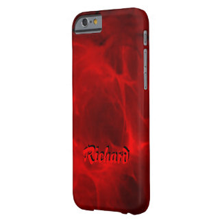 Richard Red Style iPhone case