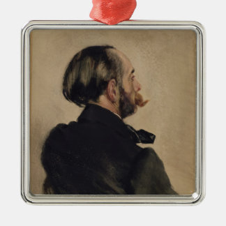 Richard, the Brother of the Artist, 1860 Christmas Ornament