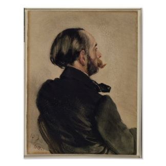Richard, the Brother of the Artist, 1860 Poster
