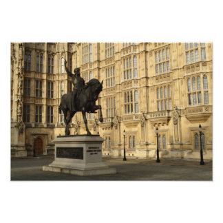 Richard The Lionheart At Westminster Photo Print