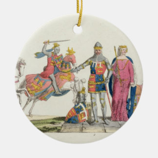 Richard the Lionheart, John of Gaunt, Edward III, Christmas Ornament