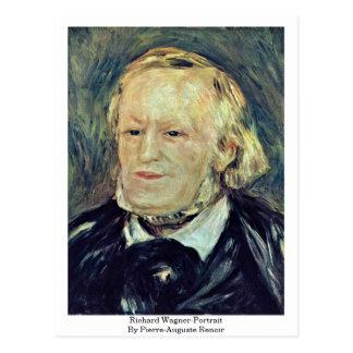 Richard Wagner-Portrait By Pierre-Auguste Renoir Postcard