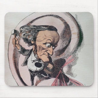 Richard Wagner splitting the ear drum of world Mouse Pad