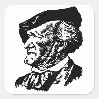 Richard  Wagner Square Sticker