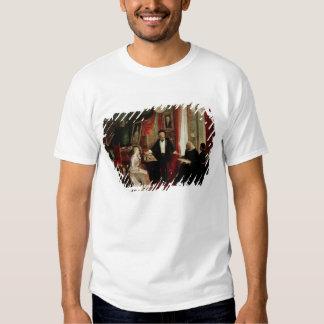Richard Wagner with Franz Liszt and Liszt's daught Tee Shirt