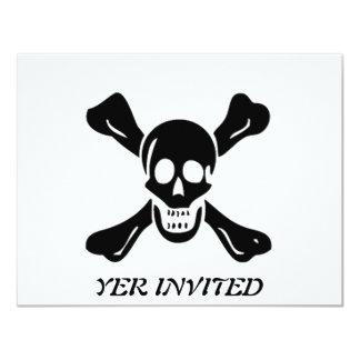 Richard Worley-Black 11 Cm X 14 Cm Invitation Card