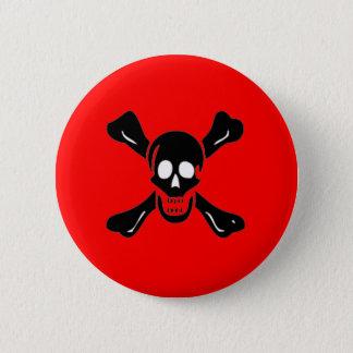 Richard Worley-Black 6 Cm Round Badge