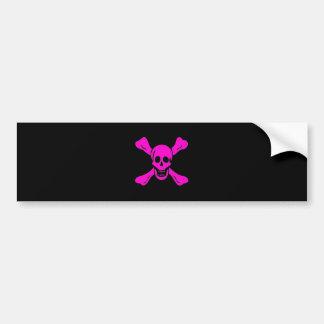 Richard Worley-Pink Bumper Sticker