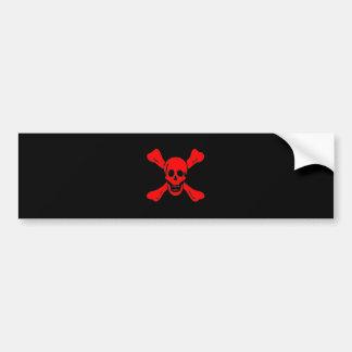 Richard Worley-Red Bumper Sticker