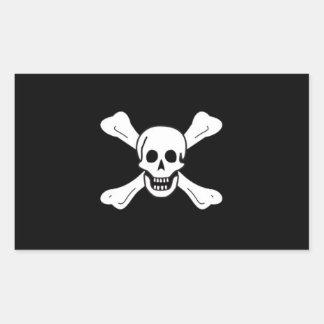 Richard Worley's Pirate Flag Sticker