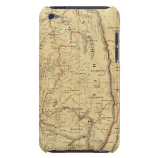 Richardson's Map of West Virginia iPod Case-Mate Cases