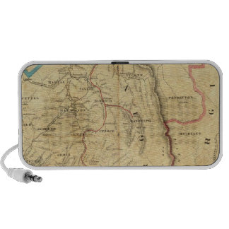 Richardson's Map of West Virginia Laptop Speaker