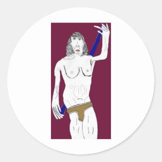RichardtheActor_Army Underwear Study Stickers