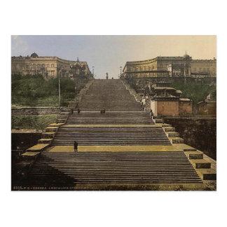 Richelieu Stair, Odessa, Russia, (i.e., Ukraine) c Postcard