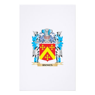 Riches Coat of Arms - Family Crest Stationery Paper