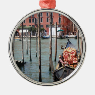 Riches of Venice Silver-Colored Round Decoration