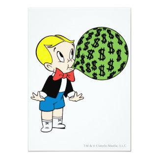 Richie Rich Blowing Bubble - Color Card