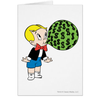 Richie Rich Blowing Bubble - Color Card