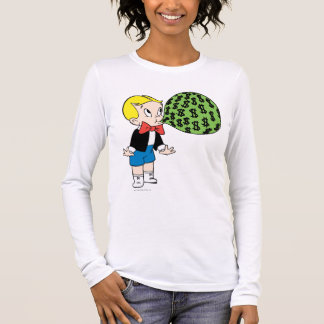 Richie Rich Blowing Bubble - Color Long Sleeve T-Shirt
