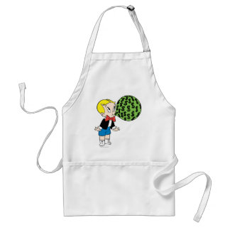 Richie Rich Blowing Bubble - Color Standard Apron